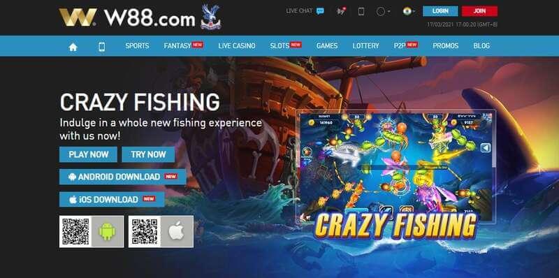 No to Phishing Instead Start Fishing with W88 Desktop - Crazy Fishing