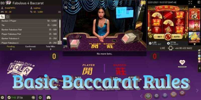 Easy Baccarat W88 Rules to Remember