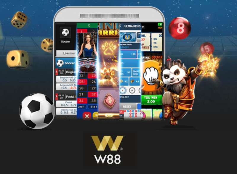 Consume W88 Dashboard Online Gaming on Mobile