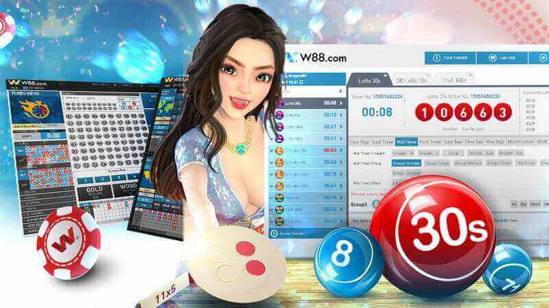 Earn While You Play and Enjoy W88's Lottery Online