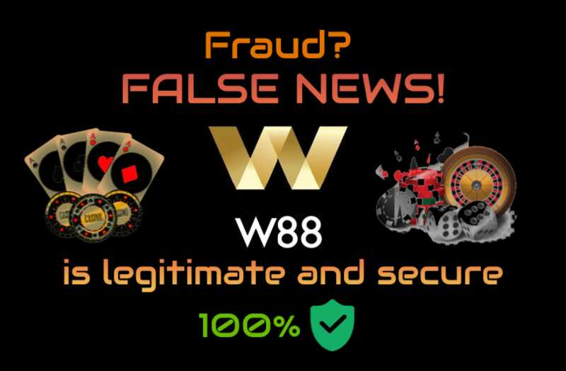 W88 Fraud Countermeasures are Always in Place to Protect Members